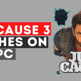 Just Cause 3 Crashes on PC