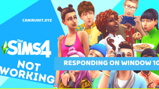Sims 4 Not Working/ Responding on Window 10